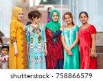 dushanbe  tajikistan   circa... | Shutterstock . vector #758866579