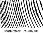 distressed halftone grunge... | Shutterstock .eps vector #758889481