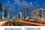 tel aviv  israel   november 20  ... | Shutterstock . vector #758892145