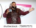 los angeles   nov 19   dj... | Shutterstock . vector #758907571