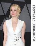 los angeles   nov 11   emma... | Shutterstock . vector #758913085