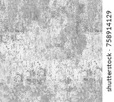 grunge background gray... | Shutterstock . vector #758914129