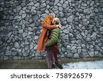 happy people relationship... | Shutterstock . vector #758926579