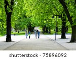 green alley | Shutterstock . vector #75896092