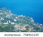 view from mount ai petri.... | Shutterstock . vector #758961235