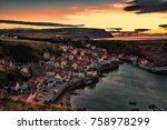Staithes Sunset North Yorkshire
