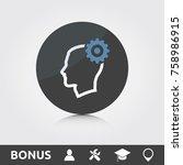 seo development icon | Shutterstock .eps vector #758986915