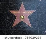 samuel l jackson's star ... | Shutterstock . vector #759029239