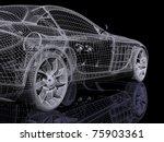 3d automobile | Shutterstock . vector #75903361