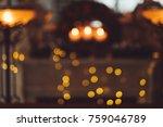 blur home christmas eve... | Shutterstock . vector #759046789