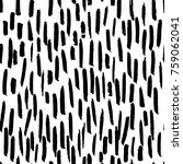 vector black white strokes... | Shutterstock .eps vector #759062041