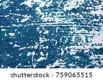 blue vintage wall texture | Shutterstock . vector #759065515