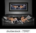 sleeping dogs | Shutterstock . vector #75907