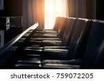 closed up leather luxury chair... | Shutterstock . vector #759072205