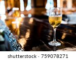cocktail at the bar. | Shutterstock . vector #759078271