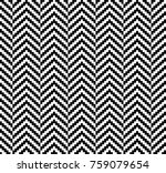 Stock vector herringbone woven seamless swatch pattern vector illustration 759079654
