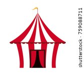 circus carnival tent | Shutterstock .eps vector #759088711
