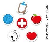 representing icon of welfare... | Shutterstock .eps vector #759113689