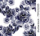 abstract elegance seamless... | Shutterstock .eps vector #759131335