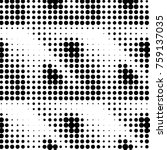 grunge halftone black and white ... | Shutterstock . vector #759137035