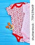 new brand bodysuits for baby...   Shutterstock . vector #759159649