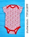 newborn girl organic lovely...   Shutterstock . vector #759161899