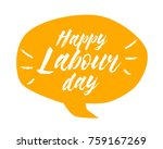 happy labour day  beautiful... | Shutterstock .eps vector #759167269