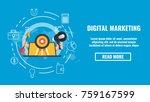 public relations concept banner ...   Shutterstock .eps vector #759167599
