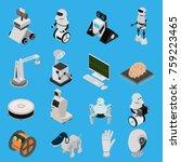 smart technologies devices...   Shutterstock .eps vector #759223465