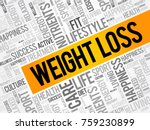 weight loss word cloud collage  ... | Shutterstock .eps vector #759230899