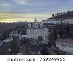 moscovia gorny monastery church ... | Shutterstock . vector #759249925