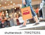 shopping women in black friday