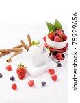 photo of delicious ice cream... | Shutterstock . vector #75929656