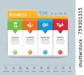 success direction  template...   Shutterstock .eps vector #759301315