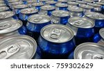 repeating pattern of beer cans... | Shutterstock . vector #759302629