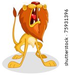 áfrica,africana,enojado,arte,grande,caricatura,dibujos animados,gato,carácter,imágenes prediseñadas,color,cresta,lindo,dibujo,cara