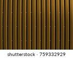 industrial corrugated steel... | Shutterstock . vector #759332929