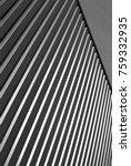 industrial corrugated steel... | Shutterstock . vector #759332935
