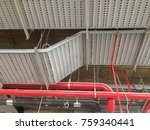 cable tray electrical wiring. | Shutterstock . vector #759340441
