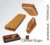 vector realistic illustration... | Shutterstock .eps vector #759344125
