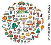 imagination. exploration. study.... | Shutterstock .eps vector #759350221