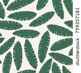 tropical background with palm... | Shutterstock .eps vector #759357181