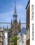 cologne cathedral is a roman... | Shutterstock . vector #759367339
