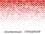 fade square random color red... | Shutterstock .eps vector #759369559