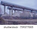 industrial background in... | Shutterstock . vector #759377005