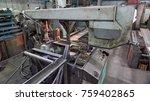 machine for cutting metal... | Shutterstock . vector #759402865