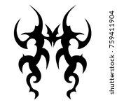 tattoos ideas designs   tribal... | Shutterstock .eps vector #759411904