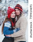 christmas background   winter...   Shutterstock . vector #759414691