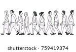 vector illustration various... | Shutterstock .eps vector #759419374