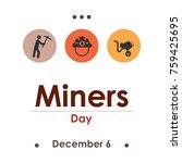 vector illustration for  miners ... | Shutterstock .eps vector #759425695